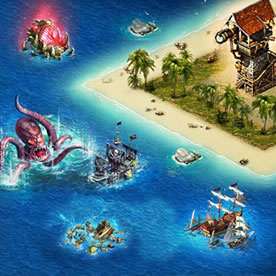 Pirates: Tides of Fortune Screenshot 2